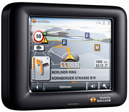 Navigon 3100 and 3110 GPS units go mini