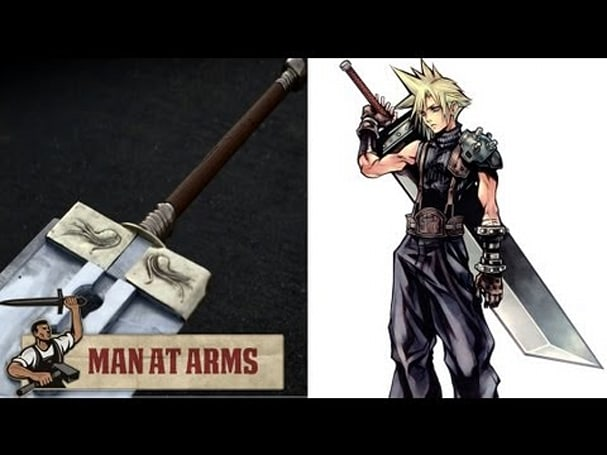 Man at Arms builds 80-pound replica of Final Fantasy VII's Buster Sword
