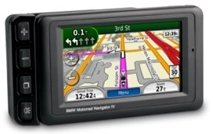 BMW kicking Garmin's zumo 660 up a notch with the Motorrad Navigator IV