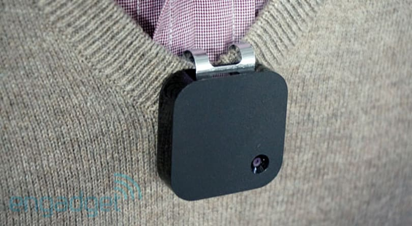 Narrative Clip lapel camera shows up at Expand in its final form, we go hands-on