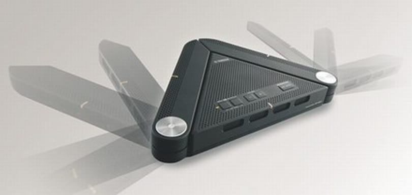 Yamaha's PJP-25UR speakerphone does VoIP