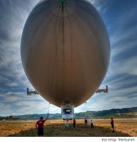Urban Airship and TUAW want to give you a ride on a real airship