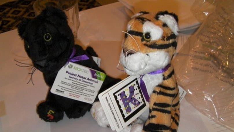 Kinectimals plush toys coming in Spring 2011