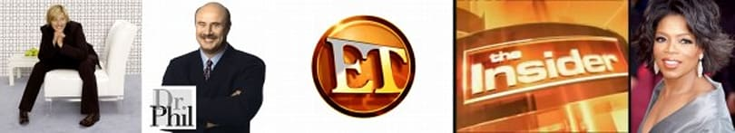 Oprah & Ellen & Dr. Phil & Entertainment Tonight & The Insider enter HD tomorrow