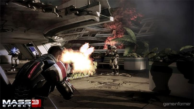 Mass Effect 3 introduces new Heavy Melee class; screens show Shepard taking on Cerberus