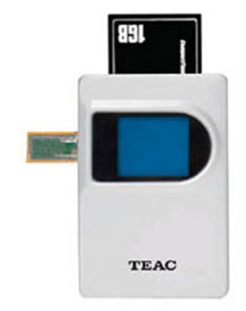 TEAC intros multifunction portable hard drive