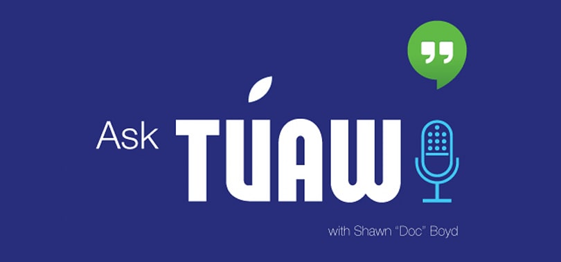 Ask TUAW Live is on the air at 5 PM ET today!