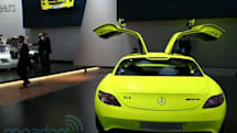 Mercedes SLS AMG E-Cell hitting dealerships in 2013