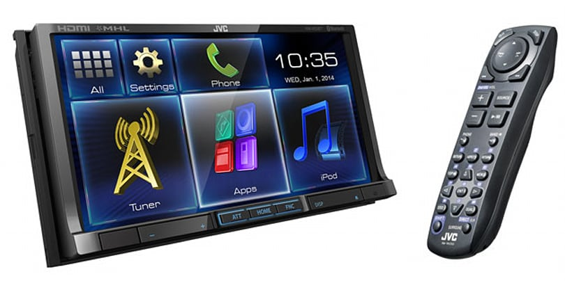 JVC outs more MHL-ready in-dash receivers at CES 2014