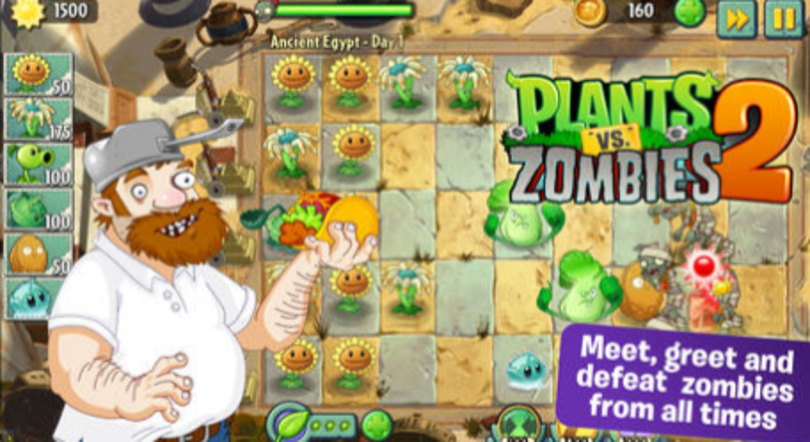 Plants vs. Zombies 2 gets upgraded map, more 'cool' stuff