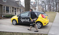 Sprint's delivery service arrives in Las Vegas and six other cities