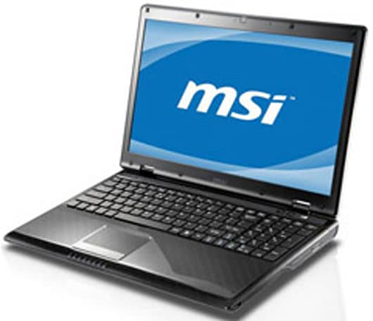 MSI reveals 15.6-inch, Core i5-equipped CX620 3D laptop