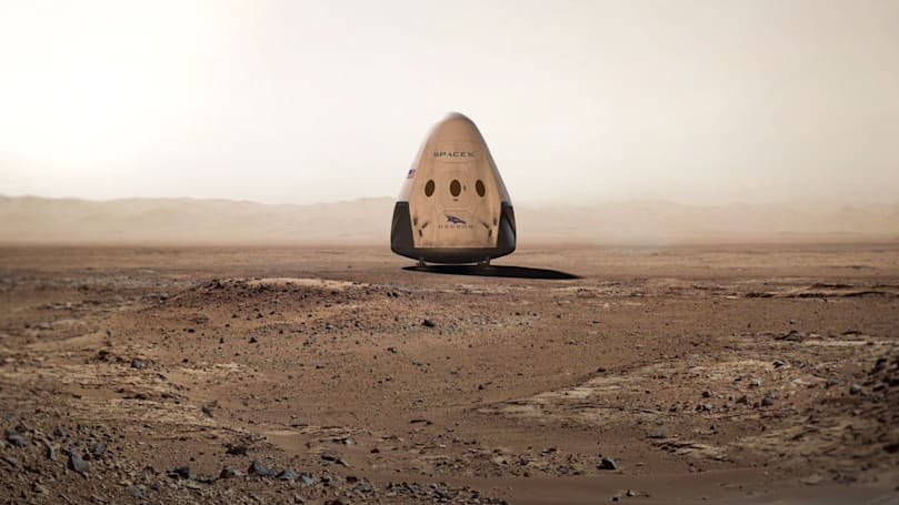 Las Vegas bets that SpaceX will make it to Mars before NASA