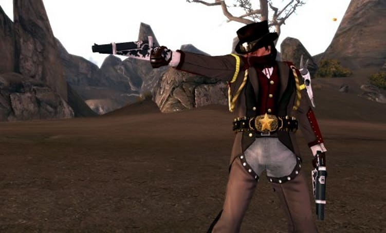 City of Heroes aims at accessorizing with the new Gunslinger Set