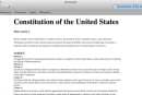 The copy of the U.S. Constitution that's installed on every Mac