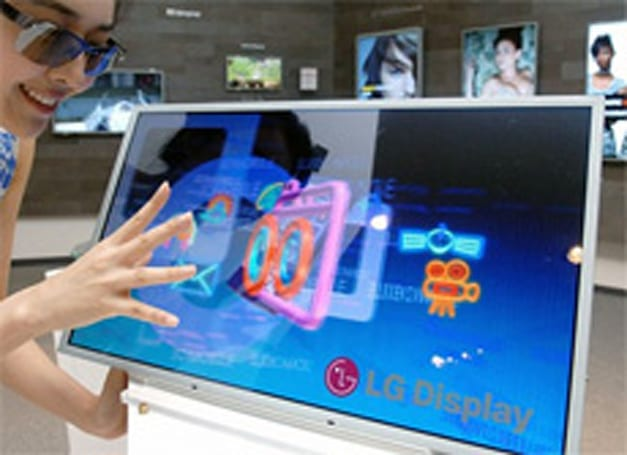 LG expects to sell 3.8 million 3D LCDs by 2011, partners with Korean broadcaster SkyLife