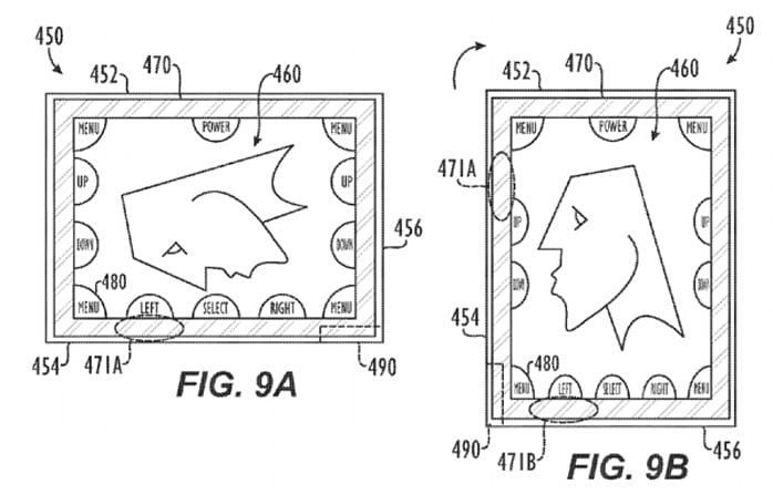 Apple gets a patent on smart screen bezels