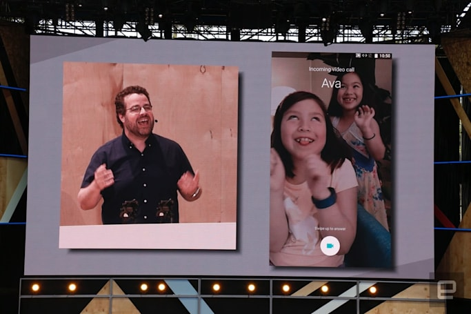 Google shows off its new 'Duo' video calling app