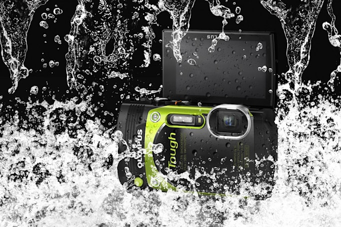 The Olympus Stylus TG-870 is a ruggedized compact camera