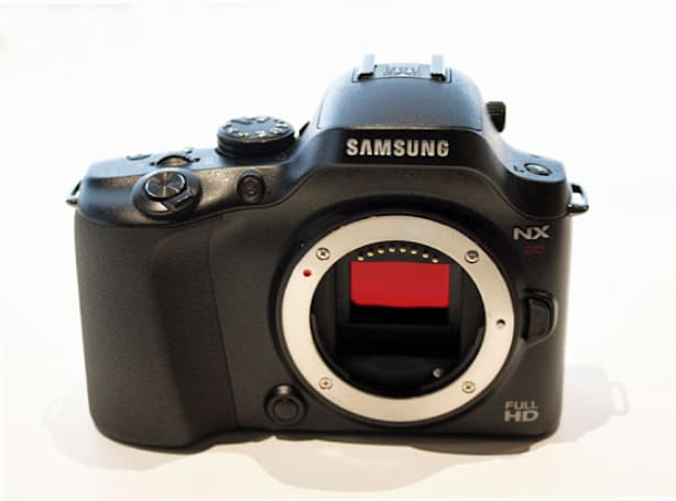 Samsung NX20 WiFi gets unofficial reveal