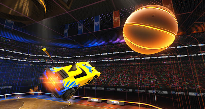 'Rocket League' basketball update lands on April 26th