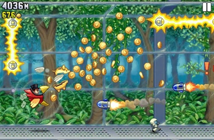 Jetpack Joyride ascends to two million downloads on PSN