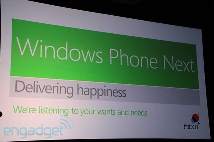 Windows Phone adds multitasking, deeper OS integration, and sensor access to dev platform