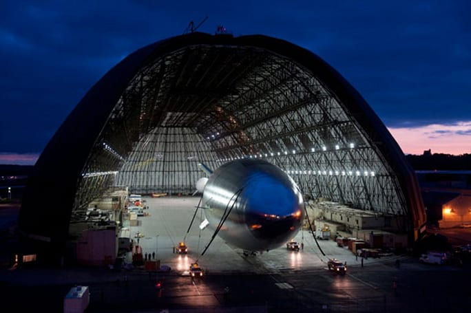 Lockheed Martin's HALE-D airship learns to fly, makes a crash landing