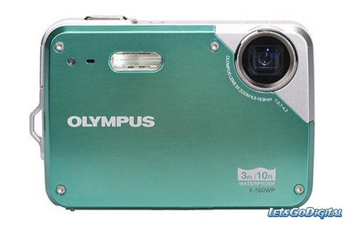 Olympus cranks out two point and shoots: X560 WP and T100