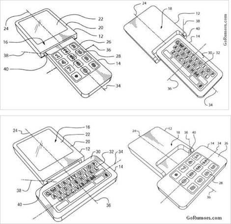 RIM files patent for flipping, rotating smartphone keyboard