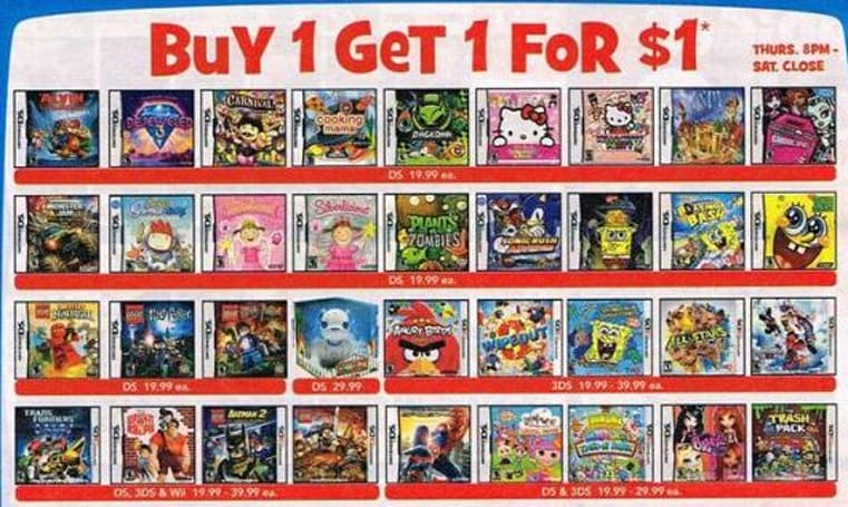 Toys 'R' Us offers 'buy one, get one for $1' game sale, lots more on Black Friday