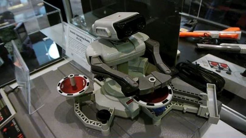 Seen@GDC 2014: Nintendo's advanced robot technology