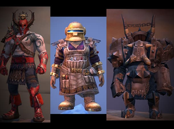 Latest WAR grab bag shows off high-level armor