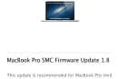 Apple releases SMC Firmware Update battery fixes for MacBooks