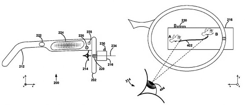 Google gets patent for eye tracking-based unlock system, shifty looks get you access