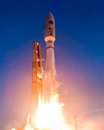 Military's first Advanced Extremely High Frequency satellite makes its way into orbit