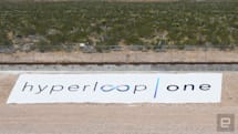 Hyperloop One shows off its high-speed propulsion system