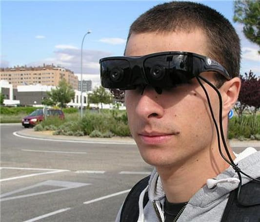 Prototype glasses help the visually impaired avoid obstacles