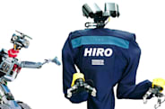 HIRO, the realistic 'torso bot' for researchers and fans of El DeBarge