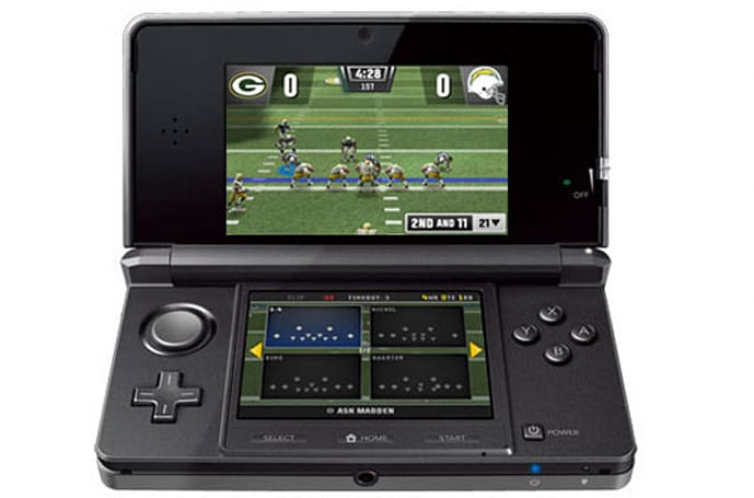 Off-season Madden suiting up for 3DS launch