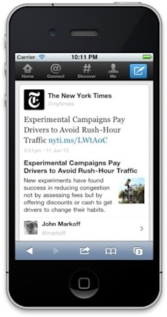 Twitter brings expanded news tweets to the web, makes skimming articles all too easy (update: Lytro too)