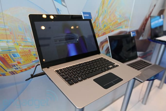 Ultrabooks invade IDF 2011, Toshiba Portege Z830 makes cameo (video)
