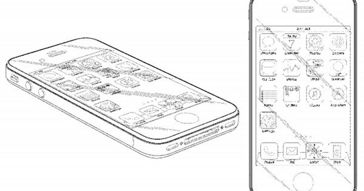 Apple awarded design patent for iPhone 4