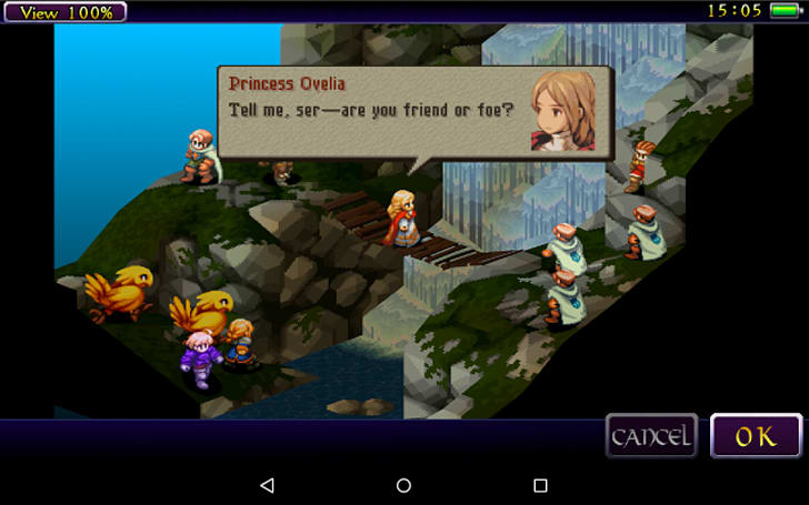 'Final Fantasy Tactics' hits Android