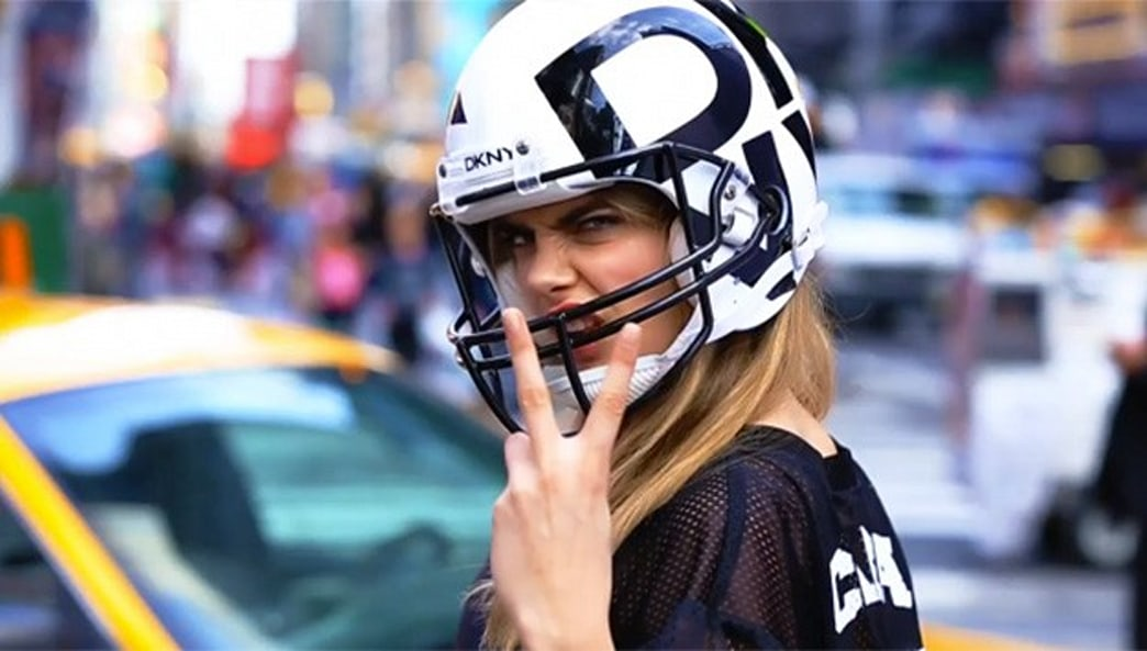 DKNY brings fashion to football with Cara Delevingne, Jourdan Dunn and A$AP Rocky