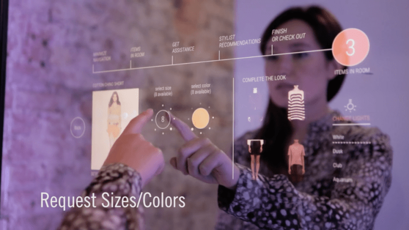 Ralph Lauren starts testing interactive fitting rooms in NYC