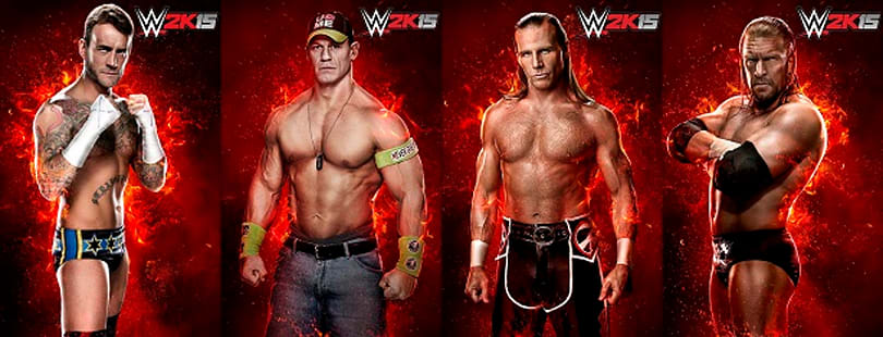 WWE 2K15's historical rivalry mode stars CM Punk, Shawn Michaels