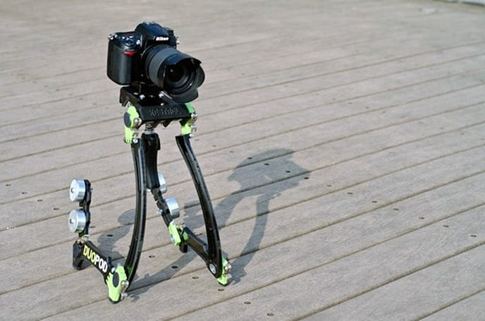 Mountkestrel DuoPod turns your shaky shoulders into a DSLR steadicam (video)