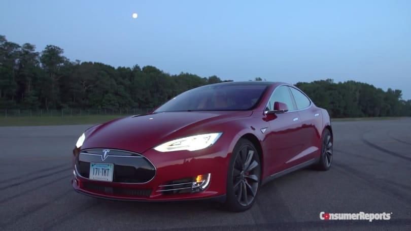 Tesla Model S broke Consumer Reports' rating system