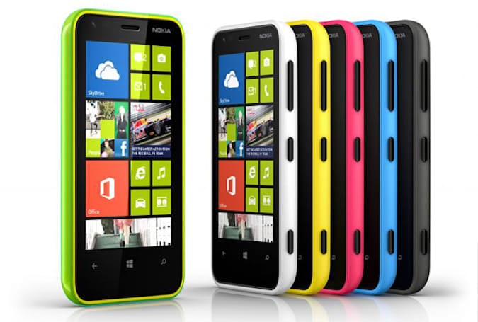 Nokia Lumia 620 announced: 3.8-inch WVGA display, 5MP camera, $249